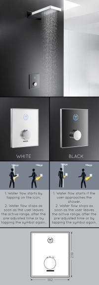 Digital Shower Valves & Electronic Shower Controls - Sensor