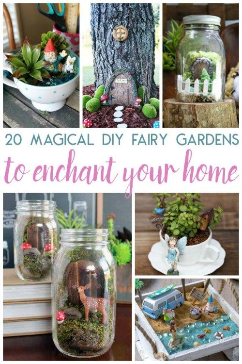 Medium Of Diy Fairy Gardens