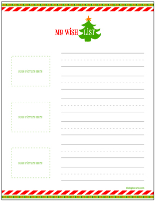 christmas list printouts - Ozilalmanoof - Kids Christmas List Template
