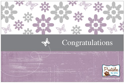 Free Printable Card - free printable congratulations baby cards