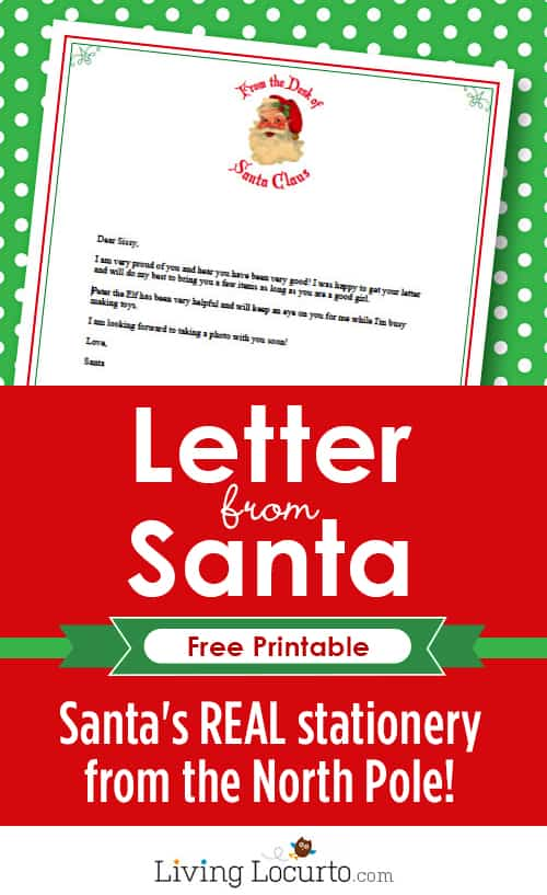 santa letterhead template