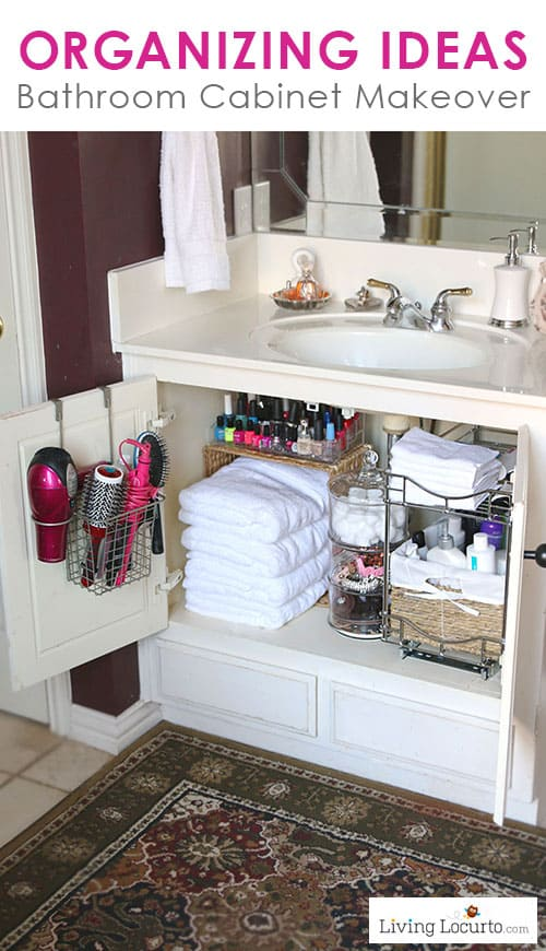 Quick Bathroom Organization Ideas Before and After Photos - bathroom organizing ideas