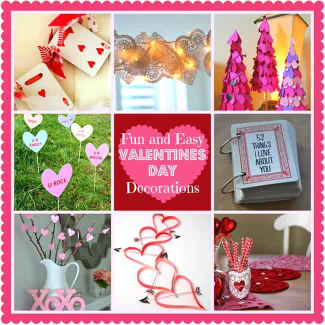 DIY Home Decoration Ideas for Valentineu0027s Day - valentine craftf