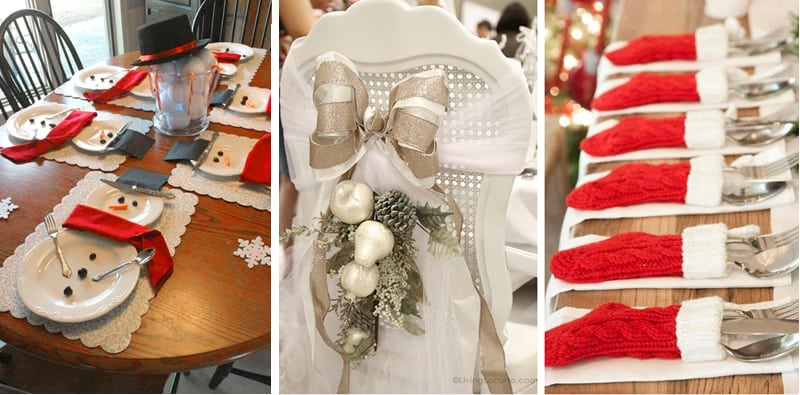 The Best Christmas Table Setting Decorations Holiday