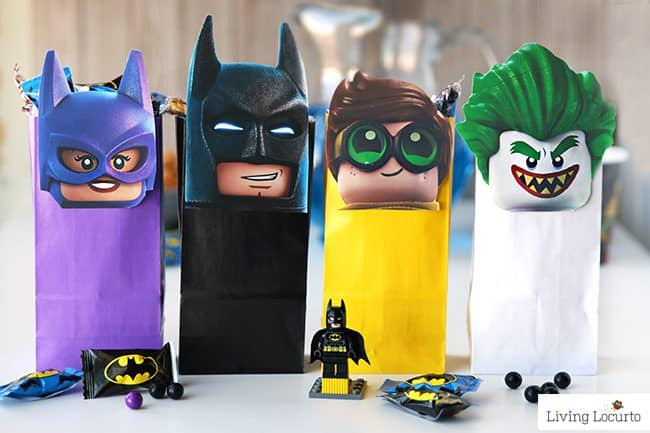 Super Cute Little Baby Wallpapers The Lego Batman Movie Diy Party Treat Bags Free