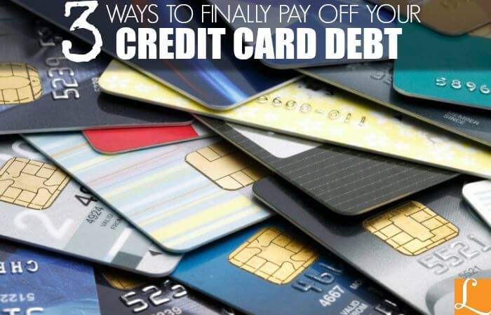 Smart Ways to Finally Pay Off Your Credit Card DebtLiving Rich With - how to pay off credit card