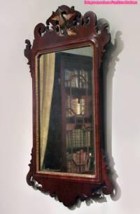 Decorative Antique Wood Wall Mirror Design