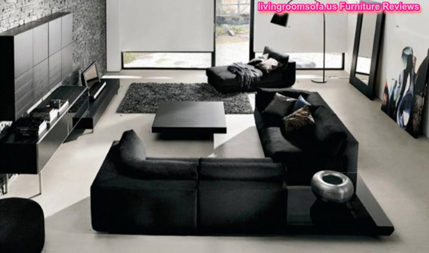 Fantastic Black Living Room Furniture Sets - black living room set