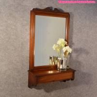 Wooden Antique Wall Mirror Furniture Design