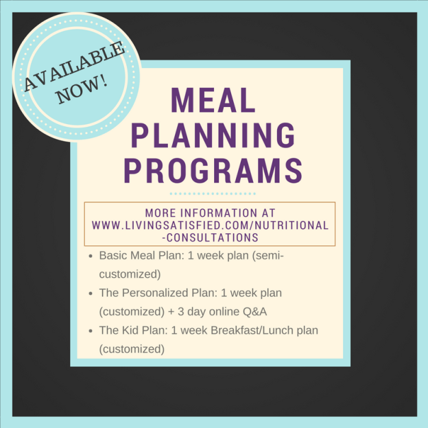 social media Meal planning services available now