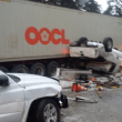 I-90 reopened over Snoqualmie Pass after Huge Accident forces Long Closure; Two dead, Truck driver arrested