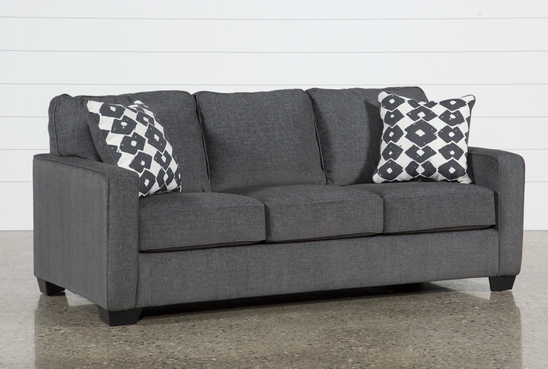 Grey Sofa Beds Lucan Gray Sleeper Sofa Sofas Thesofa