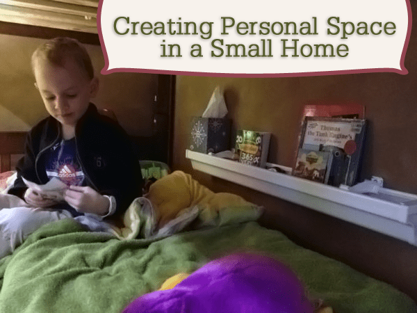 personal space in a small home Personal Space in a Small Home