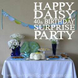 Salient Boyfriend Happy Daisy Party Square Happy Daisy Birthday Surprise Party Budget Friendly Party Ideas Surprise Party Ideas Wife Surprise Party Ideas