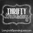 Thrifty Thursday Linky Party at LivingWellSpendingLess.com!