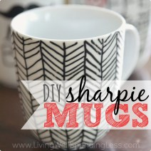 Tween Crafternoon: Sharpie Mugs