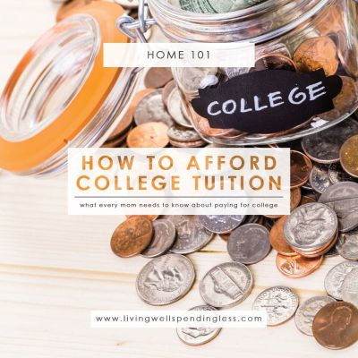 What Every Mom Needs to Know about Paying for College - Living Well Spending Less®