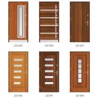 Modern Timber Entrance Doors | Livingwood