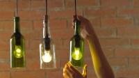 DIY: HOW TO MAKE WINE BOTTLE PENDANT LIGHTS | livin spaces
