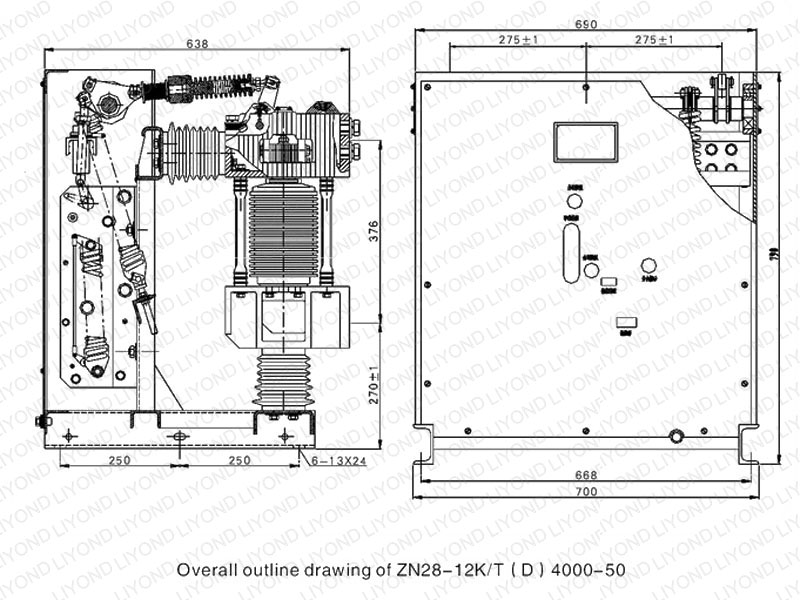 vcb panel circuit diagram