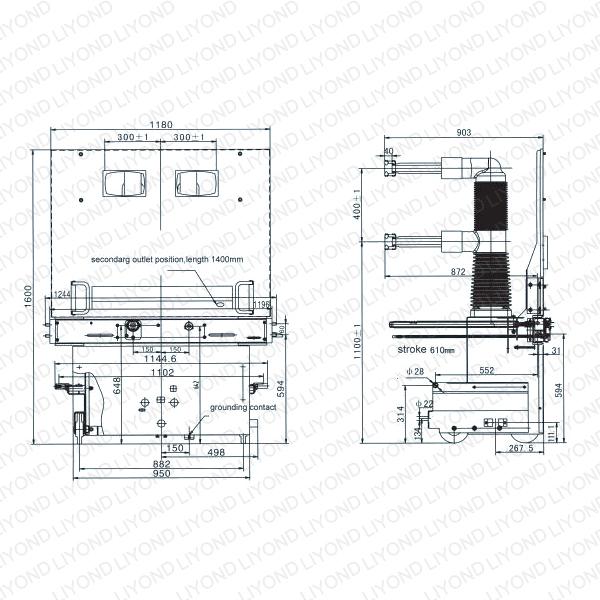 for breaker operating on wiring diagram of vacuum circuit breaker