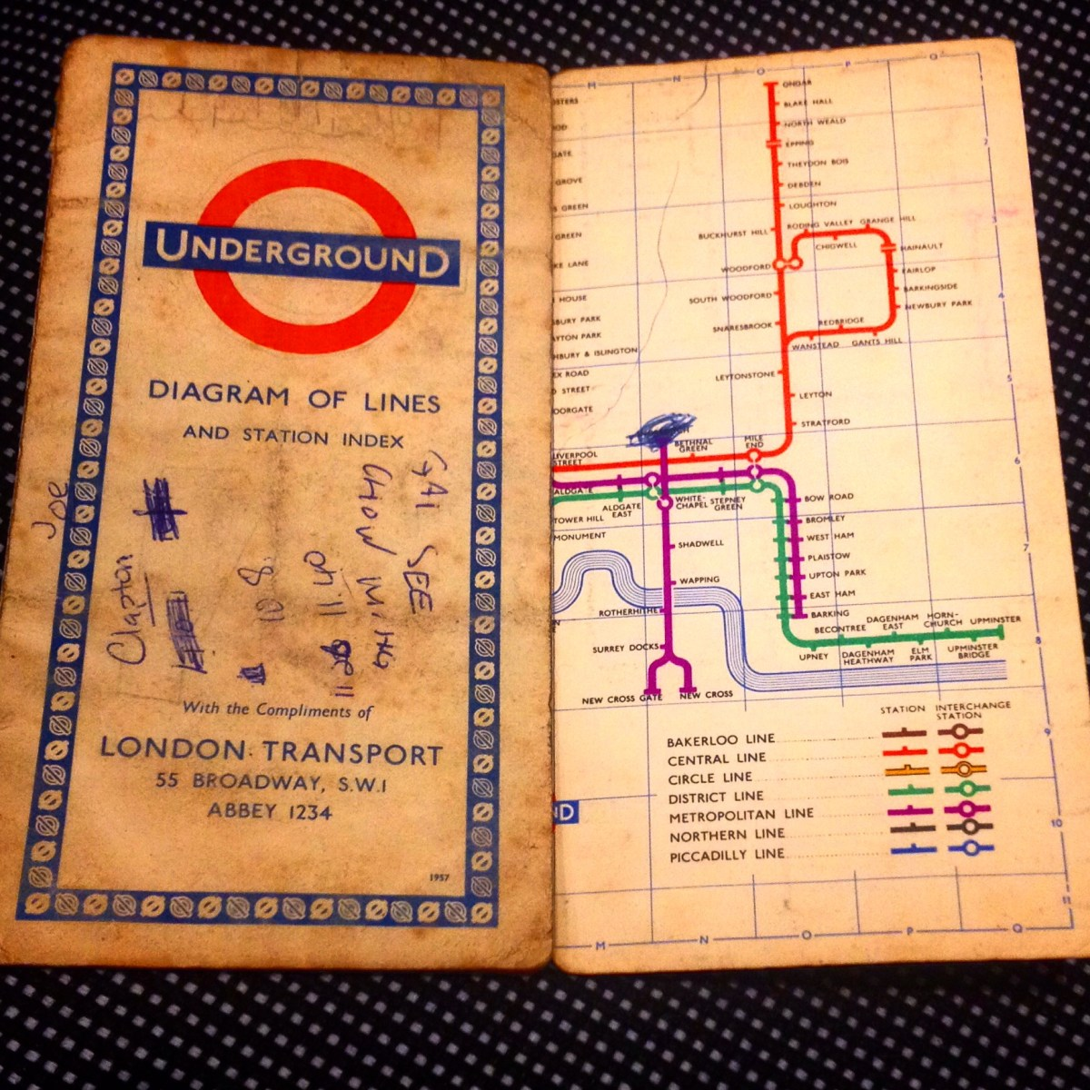 The Theology of Power - and a Tube map