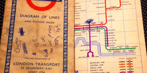 The Theology of Power – and a Tube map