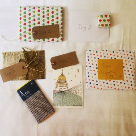 Tess' retreat gifts