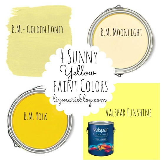 best yellow paint colors