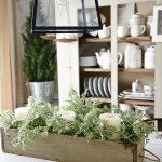 DIY Rustic Wood Box Centerpiece