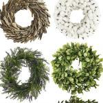 10 Amazing Farmhouse Style Wreaths