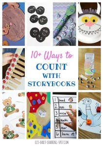 10 Ways to Count with Storybooks