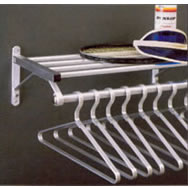 Lk Goodwin Company Wall Mounted Coat Hat Rack 1200 System