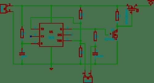 push button latch circuit