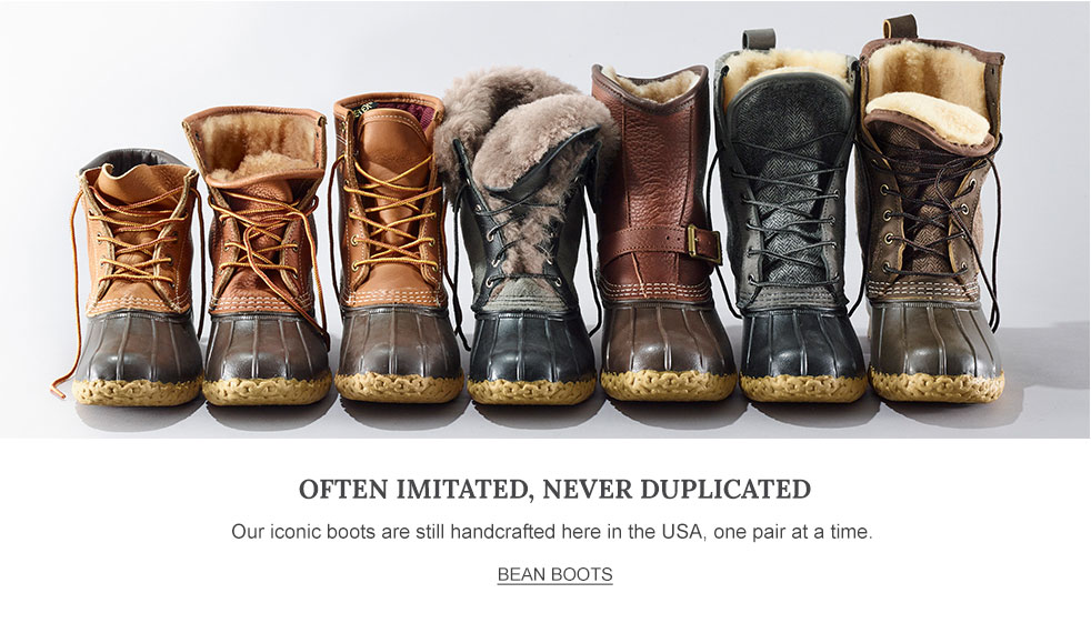 Llbean The Outside Is Inside Everything We Make