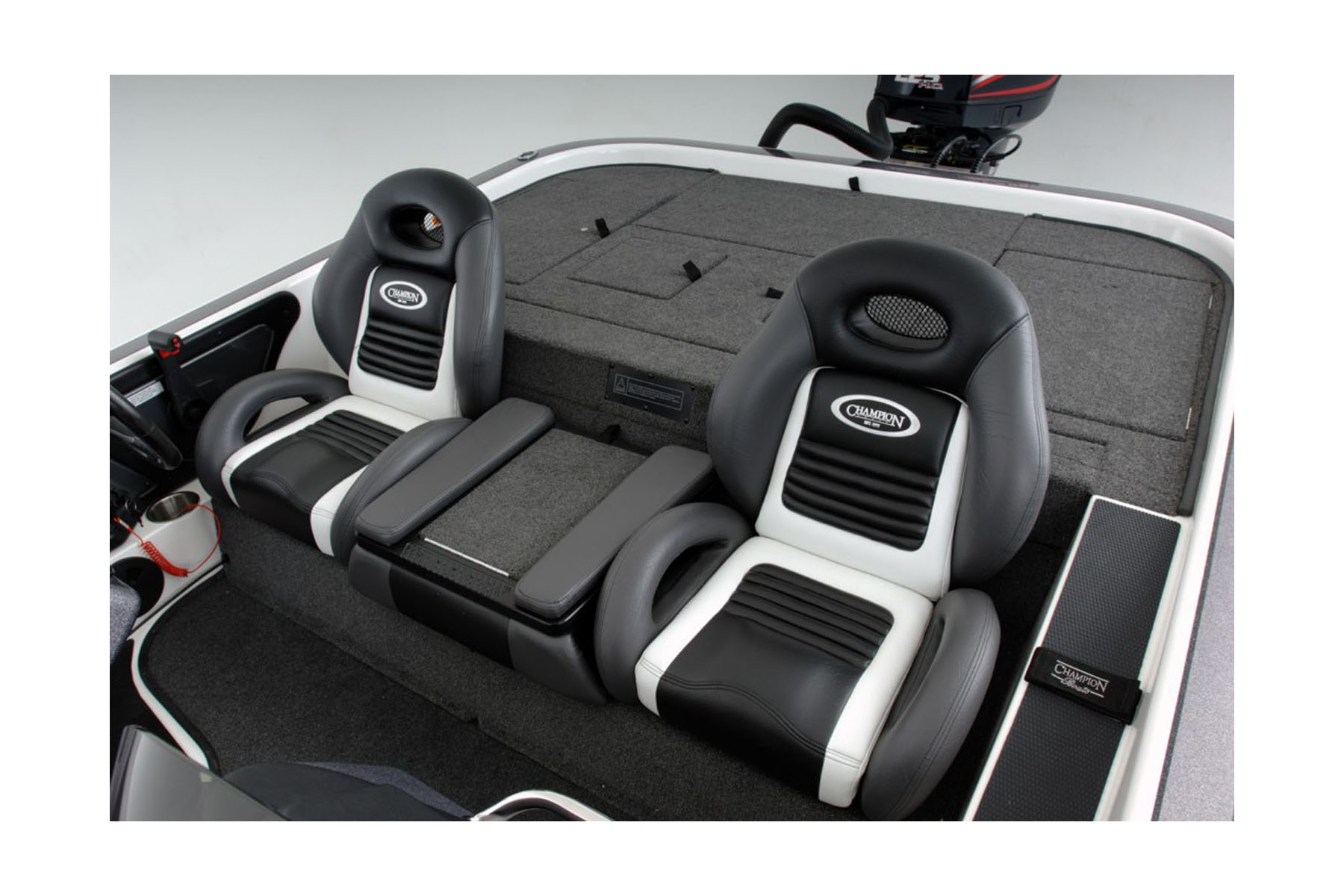 Gt2 Bass Boat Seats With Center Console Storage Box