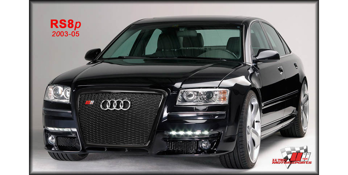 2004 audi a8 front bumper conversion