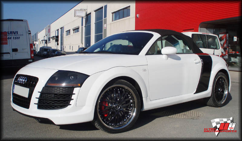 Body Kit Styling for Audi TT 8N - High Performance Tuning Parts by