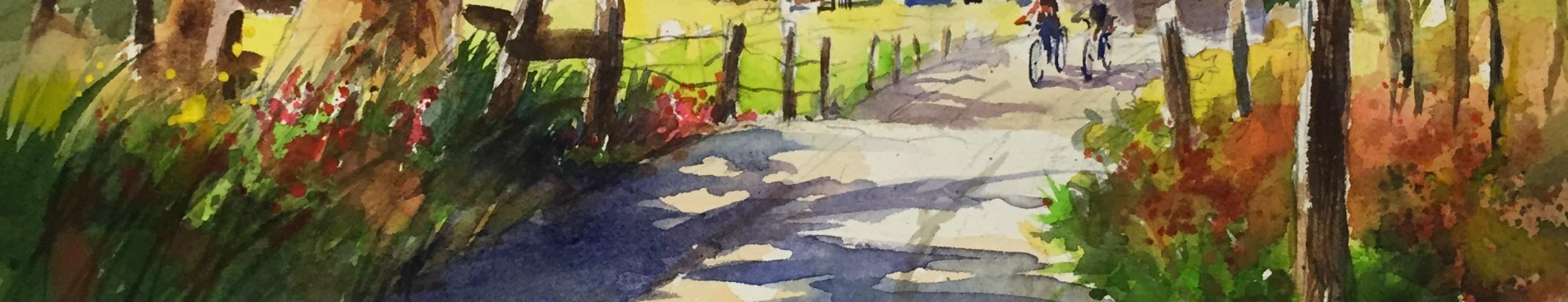 Peter O'Brien Original Watercolor