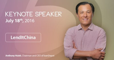 Ceo Anthony Hsieh To Deliver Keynote At Lendit China