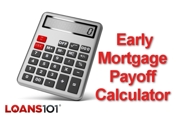 Early Mortgage Payoff Calculator - calculator to pay off mortgage