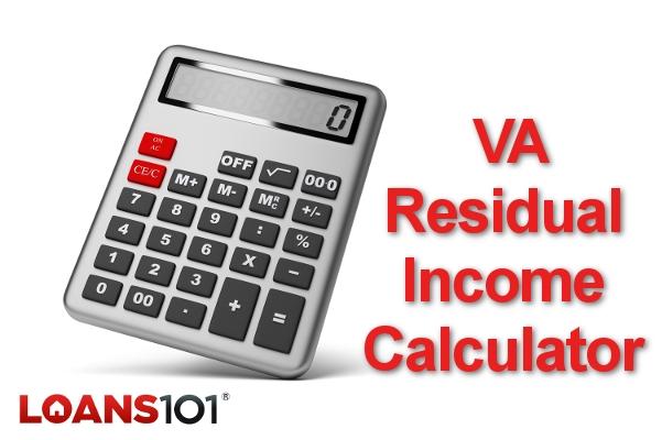 VA Residual Income Calculator