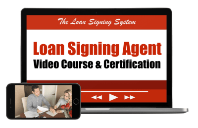 Loan Signing Agent Video Training Course - Loan Signing Agent Course
