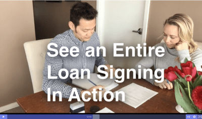The Loan Signing System Course and Certification