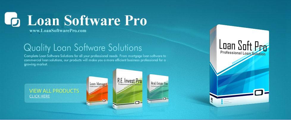 Real Estate Loan Software, Real Estate Software, Mortgage Loan Software