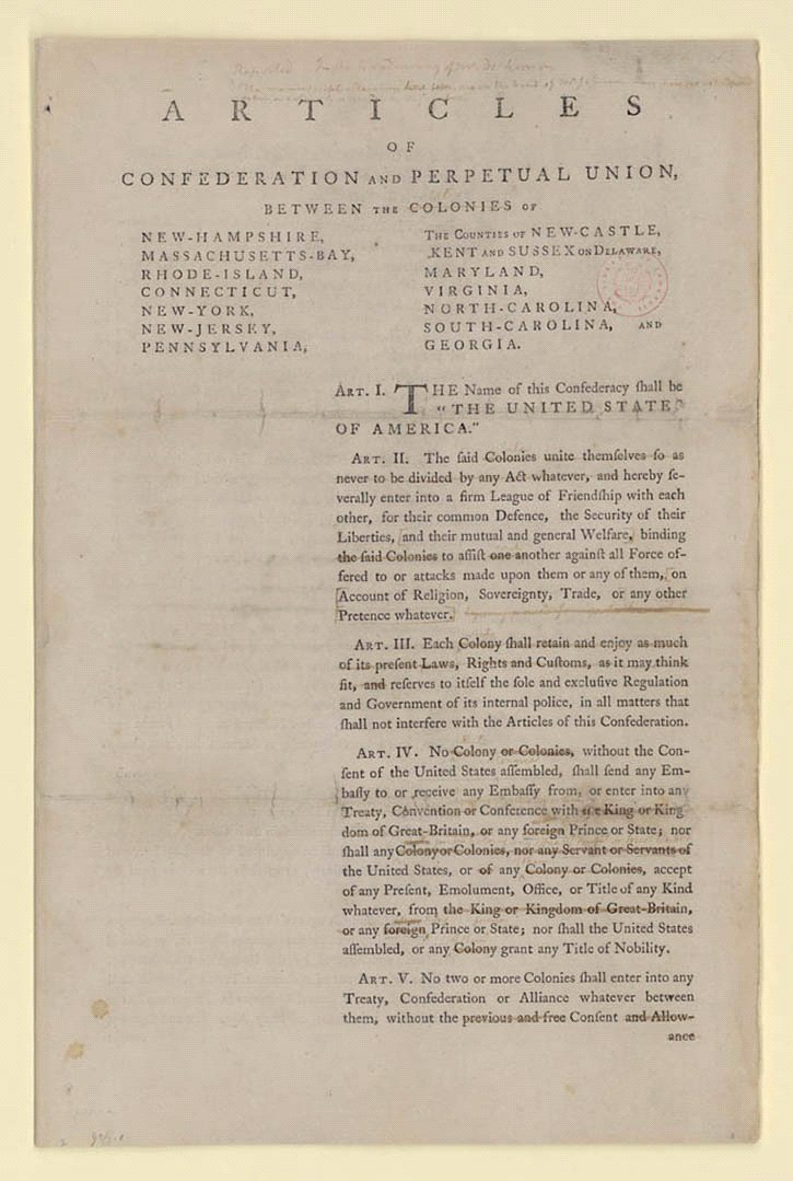 Road to the Constitution - Creating the United States Exhibitions