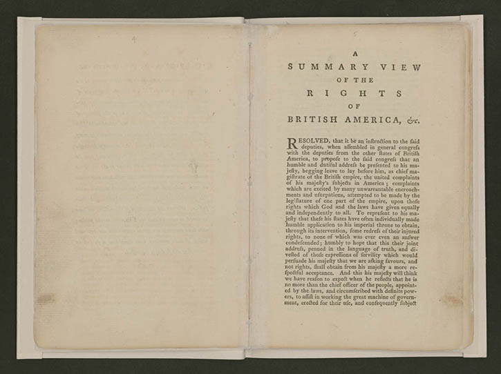 Revolution of the Mind - Creating the United States Exhibitions