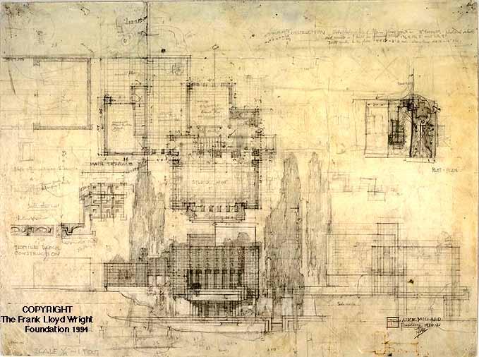 Falling Water Hd Wallpaper Doheny Ranch Development Frank Lloyd Wright Designs For