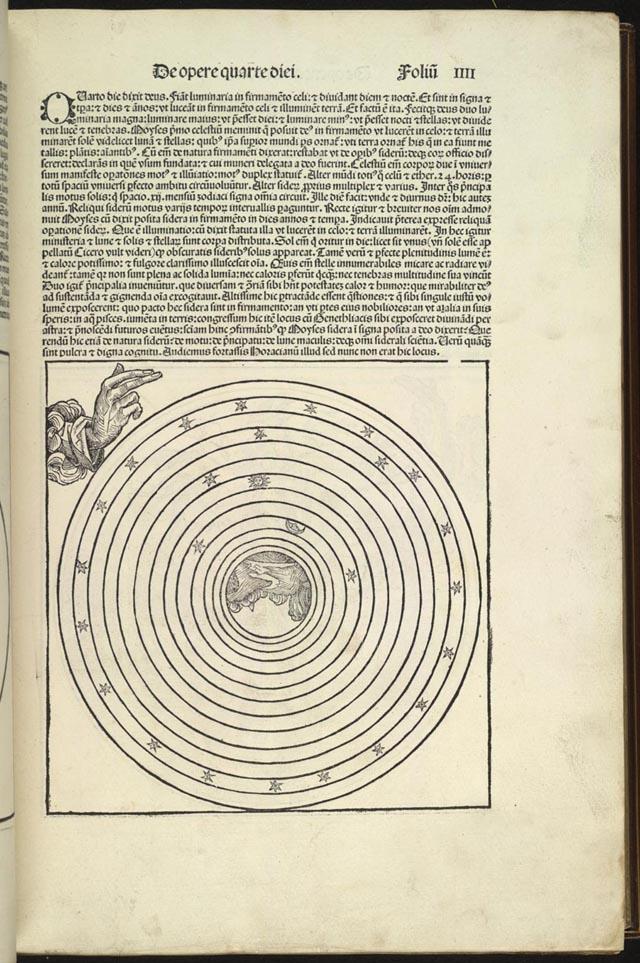 Liber Floridus Lambert of Saint-Omer 102 -94r Ancient Circles - library card