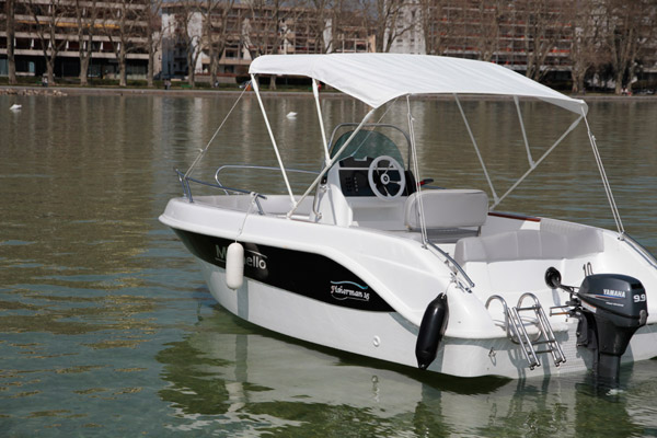 combien de cv sans permis bateau